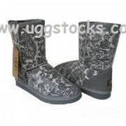 Ugg Classic Short Boots Patent Paisley, sale at breakdown price