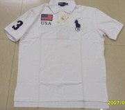 $10 ralph lauren big pony polo, lacoste stripes polo, armani polo, Boss T