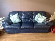3 seater and 2seater leather sofas REDUCED